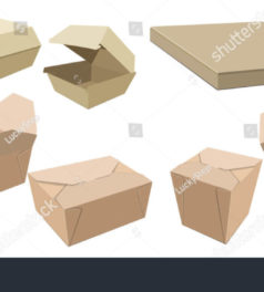 Various packing Boxes
